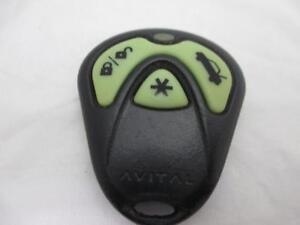 Genuine Avital 3 Button Remote 473L Viper Clifford Python 3100 3100L  EZSDEI474S