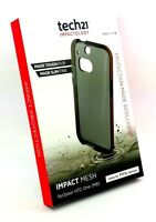 Genuine TECH21 T21-3949 D3O IMPACT MESH CASE COVER For HTC ONE M8 - SMOKEY