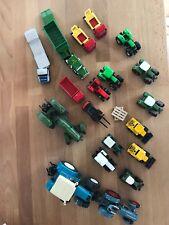 Siku Farmer Traktoren Abschleppen, Kipper ect. Konvolut 21 Teile
