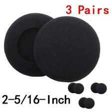 Foam Pad Ear Cover for Philip for Sony Headphones-3pairs 2-5/16-Inch T-012-6P
