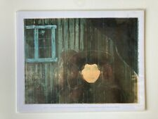 Moonlight I by Edvard Munch art print 27.9 x 35.5 cm SALE £2
