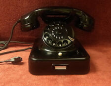 altes Telefon W48 antikes KRONE Telephone Bakelit  Fernsprecher TOP!