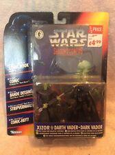 """Star Wars Sombras Del Imperio 'Xizor Vs Darth Vader"""" (nuevo Y Sellado) Kenner"""