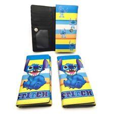 Disney lilo&stitch big teeth long wallet money bag handbag purse notecase wallet