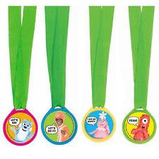 YO GABBA GABBA AWARD MEDALS (12) ~ Birthday Party Supplies Favors Nickelodeon