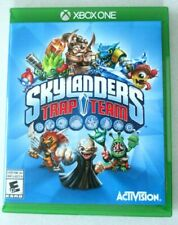 * Microsoft Xbox One Activision Skylanders Trap Team w Game, Case, & Cover Art👾