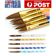 5pcs Nail Art Design Brushes UV Gel Acrylic Painting Drawing Liner Polish Brush