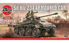 AIRFIX VINTAGE CLASSICS - Sd.Kfz.234 ARMOURED CAR  - MODEL KIT  - 1:76 - A01311V