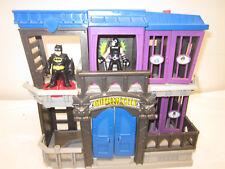 Imaginext Dc Gotham City Jail Playset Dc Comics w/ Batman and Light up Bane