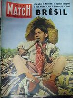 PARIS MATCH N° 0147 SPECIAL BRESIL RIO 16 PAGES PHOTOS INDOCHINE LINARES 1952