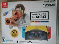Nintendo Labo Toy-Con 04: VR Kit - Starter Set + Blaster - Nintendo Switch New!