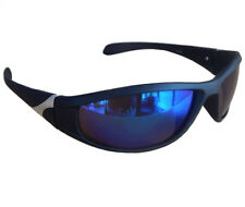 Matrix Sportbrille Sonnenbrille Schwarz verspiegelt Fahrradbrille Snowboardbrille Motorradbrille M 23 (schwarz verspiegelt) mZaZy