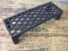 Cast Iron air Brick Vent  HONEYCOMB -  quality - powder coated black