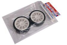 Tamiya 84357 RC 10 Spoke Wheels W/24mm Reinforced Tires Set for Tt01/tt02/ta06