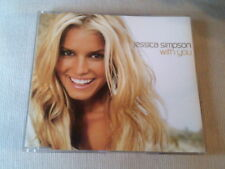 JESSICA SIMPSON - WITH YOU - 2 TRACK UK CD SINGLE