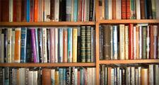 Lotto stock di 100 libri usati Romanzi e storia. Per Mercatini e arredamento.