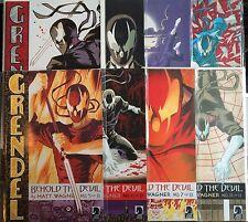 Grendel Beyond the Devil #1-8 Set VF+ 1st Print Free UK P&P Dark Horse Comics