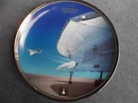 "British Airways Concorde Ltd Edition  2003 Davenport  Plate ""Queen of the Skies"""