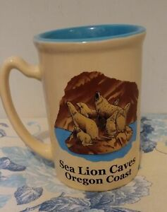 OREGON COAST SEA LION CAVES SOUVENIR MUG