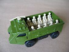 MATCHBOX SUPERFAST No54 PERSONNEL CARRIER MADE IN ENGLAND 1976 LESNEY