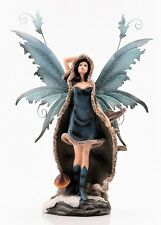 Snow Fairy Colored Figurine Metal Wings FYP 67  - Legends of Avalon