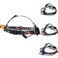 2X T6 LED 60000LM USB Headlight 3 Modes 2X18650 Battery Flashlight XN
