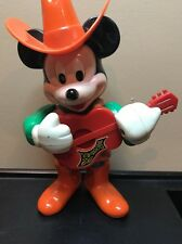 Vintage Disney Mickey Mouse Wind Up Collectible Toy