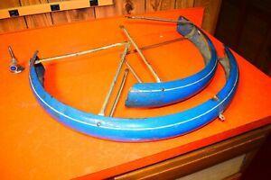 "Vintage 1960's Schwinn Flying Star Wheel Fenders 26"""