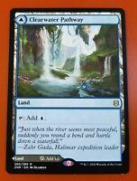 1x Clearwater Pathway // Murkwater Pathway | Zendikar Rising | MTG Magic Cards