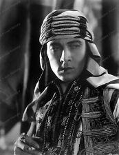 8x10 Print Rudolph Valentino The Sheik 1921 Paramount Portrait #RV333