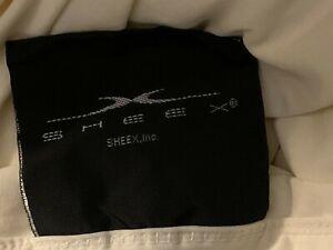 SHEEX Experience Authentic Performance Fabric King Flat Sheet Ecru Moisture Wick