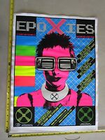 2005 Rock Roll Concert Poster Epoxies Stainboy S/N LE 16 Artist Proof