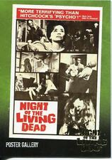 """Night Of The Living Dead Gold Foil Chase Card  F7   """"More Terrifying than.."""