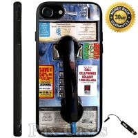Public Phone booth Case For iPhone 6S 7 Plus Samsung Galaxy S7 S8 Plus+STYLUS
