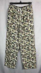 Northwest Territory CAMO Soft Flannel Pajama Lounge Pants, Boys Size S
