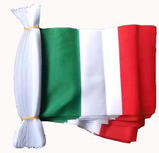 ITALY 3 METRE BUNTING 10 FLAGS flag 3M ITALIA ITALIAN TURIN ROME BARI