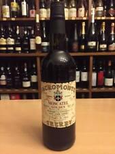 6 x Sherry Golden Moscatel Solera No 125 Sacromonte La Costilla 17 % Süß Edelsüß