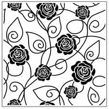 "Sheena Douglass 7/"" X 7/"" plantilla Crafters Companion Máscara Victoriano Park"