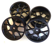 1/10 Mesh Wheels in Black12mm Hex Driver