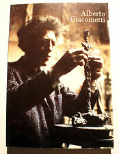 GIACOMETTI/CATALOGUE EXPO/NATIONALGALERIE/BERLIN/1988/TEXTE EN ALLEMAND