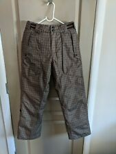 BILLABONG Outerwear Snowboard Pants Youth Unisex XL HOUNDSTOOTH Ski Snow