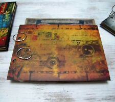Vintage camera pattern writing,drawing  journal-photo album/Sketchbook journal