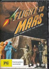 FLIGHT TO MARS FIFTY YEARS INTO THE FUTURE - NEW & SEALED R4 DVD FREE LOCAL POST