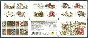 FRANCE 2017 SC# 5231a FLOWERS AS OBJECT OF ART BOOKLET (CARNET) OF 12 STAMPS MNH