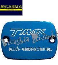 7434 - COPERCHIO POMPA FRENO BLU ANODIZZATO YAMAHA 500 T-MAX T MAX TMAX