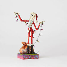 Jim Shore Disney Traditions Nightmare Before Christmas Santa Jack In Stock