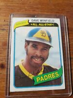 1980 Topps Dave Winfield San Diego Padres #230 Baseball Card