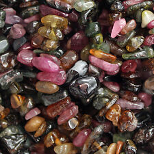 "Tourmaline Gemstone Bead Chips 35"" STRAND 5-11MM STONE Beads Chip SC2"