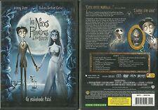 DVD - LES NOCES FUNEBRES Un film de TIM BURTON ( DESSIN ANIME ) / JOHNNY DEPP