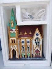 Retired Department 56 ~All Saints Corner Church ~D56 Hand Painted Building Mib